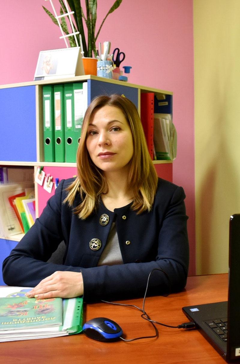 Судак Олена Миколаївна, вчитель-логопед